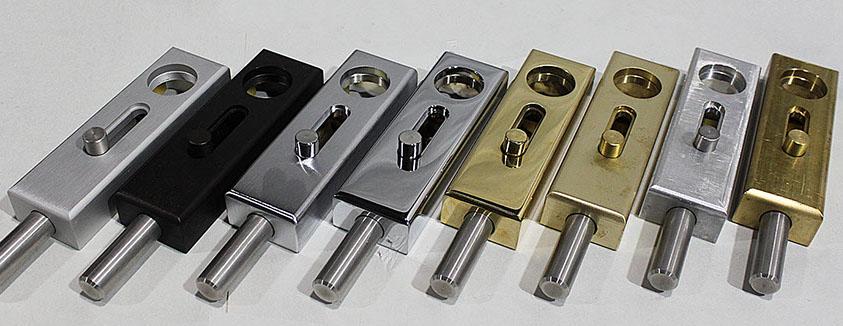 Surface Applied Lock Assemblies